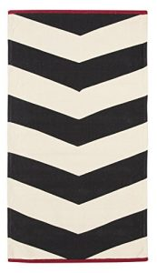 ABC Tappeti Alfombra Ikat Negro/Beige/Rojo Size is Not in Selection ES