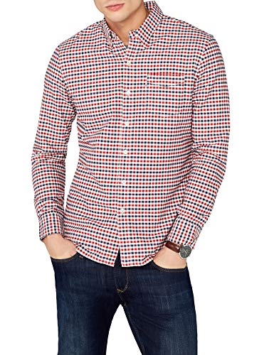 Levi's Sunset 1 Pocket, Camisa Casual Para Hombre, Multicolor (Menthol Cherry Bomb 250), Small