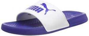 Puma Popcat, Zapatos de Playa y Piscina Unisex Adulto, Blanco White-Surf The Web 41, 37 EU