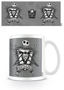 The Nightmare Before Christmas Pesadilla Antes de Navidad Misfit Love Taza de cerámica